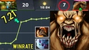 Reason Why This Hero HIGHEST WINRATE 7.21 Battle Fury Lifestealer Megacreep Comeback vs Ceb Dota 2