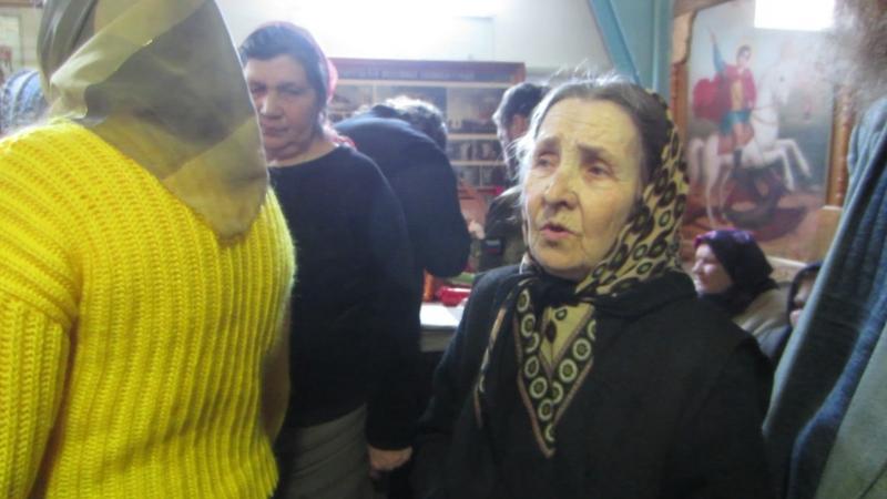 Матушка Мария 87 лет певчая в храме с Троицкого в Челябинской области.