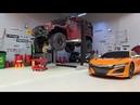 Самодельный ЭЛЕКТРИЧЕСКИЙ ПОДЪЕМНИК в гараж (rc scale garage)