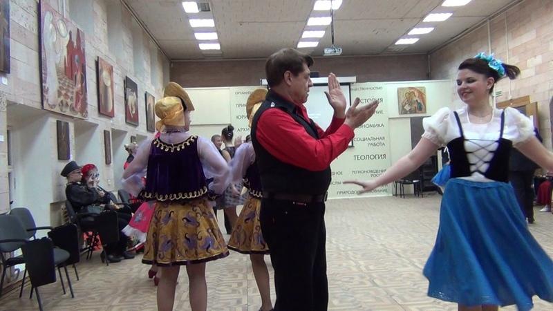 Богемская полька. Танцы народов мира-4. www.rpu-dance.ru