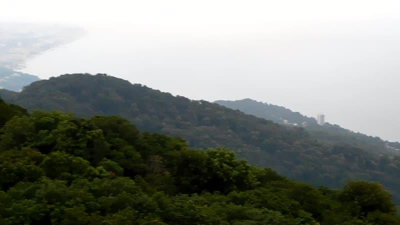Нереальный вид на Сочи с горы Ахун