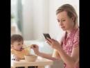 Telefonlarınıza değil bize bakın Çocuklar anne ve babalarının aşırı cep telefonu