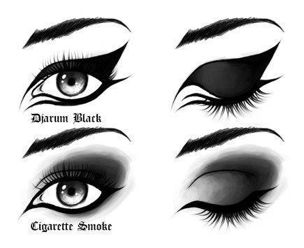 Как увеличить глаза.