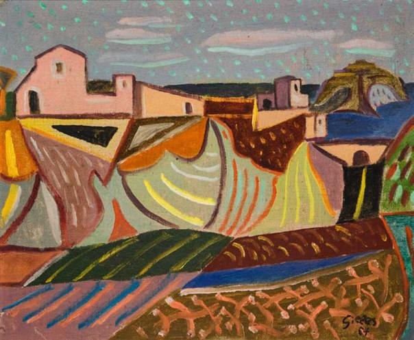 Werner Gilles, Вернер Жиль(29 августа 18941961) немецкий художник. Учился в академиях Кассель и Веймар, у Лионель Файнингер из Баухаус школы. Позже он переехал после 1921 года в Искью, Италия,