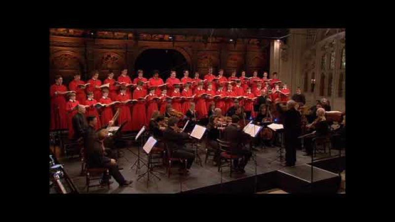 Hallelujah Choir of King's College Cambridge live performance of Handel's Messiah