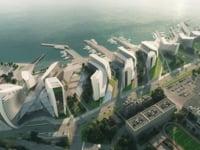 Zaha Hadid Architects. Admiral Serebryakov Embankment, Novorosskiysk.