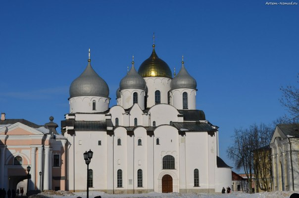 Софийский собор - древнейший сохранившийся православный храм на территории России