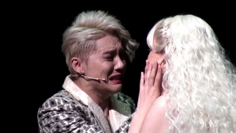 2016 연예인들의 극찬을 받은 뮤지컬 도리안 그레이 xia 김준수