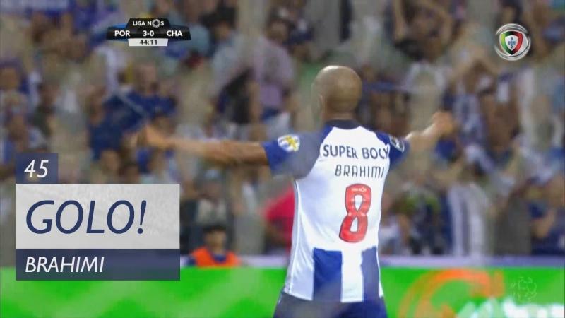 Гол Браими (45 минута, Порту – Дешпортиву де Шавиш 5:0)
