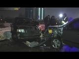 У Кив лоб у лоб зштовхнулися два автомобл Skoda та Chevrolet