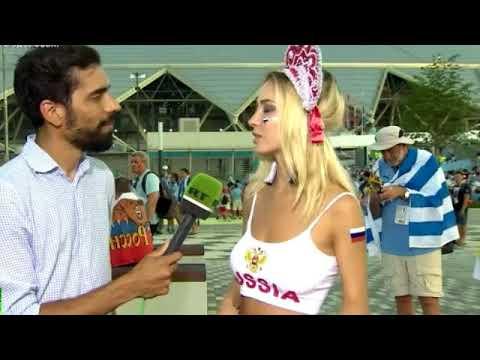 Самая красивая болельщица Наталья Немчинова Андреева про сборную России на ЧМ 2018 Видео
