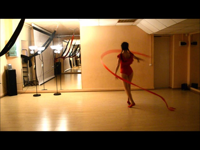 Choreography by Aleksandra Charskaya\Music: Lindsey Stirling - Roundtable Rival\Dance with a ribbon