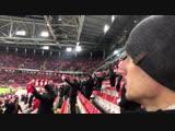 Спартак-Анжи, гимн, совершенно другая атмосфера, но все также круто!)