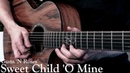 Guns 'N Roses - Sweet Child 'O Mine (Acoustic Guitar Cover) Solo by Juha Jarvinen