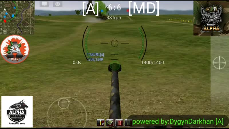 Armored aces (DygynDarkhan)[A]vs[MD]