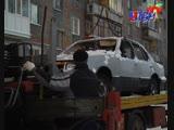 Неходовое авто. Брошенные и пришедшие в негодность автомобили увозят в утиль.