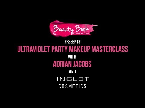 Beauty Book Masterclass with Inglot x Adrian Jacobs