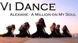 Vi Dance - Strip plastic, High heels. Music - Alexiane - A Million on My Soul.