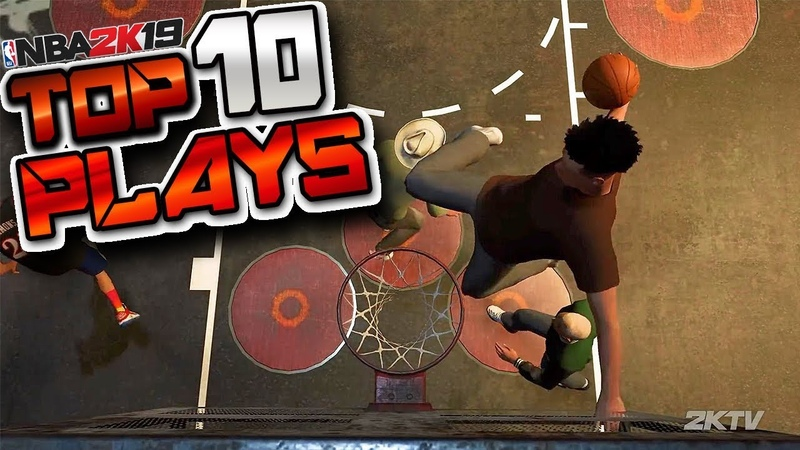 NBA 2K19 First Official TOP 10 Plays Of The Week - Ankle Breakers, Double Lobs More