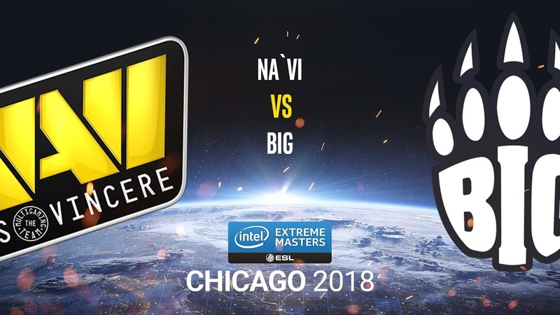 Na`Vi vs BiG - IEM Chicago 2018 - map1 - de_dust2 [CrystalMay Smile]