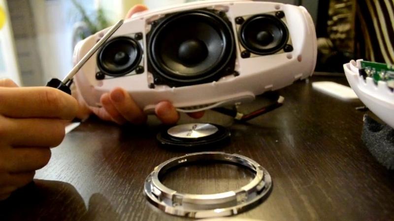 Разборка самой мощной колонки из Китая Hopestar H20 Bluetooth speaker disassembly