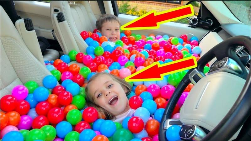 Разыграли папу ЗАСЫПАЛИ машину ШАРИКАМИ или BALL PIT PRANK IN MY Dad's CAR смотреть онлайн без регистрации