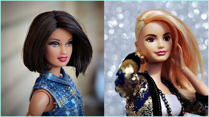 Transformación de Barbie 😍 HERMOSOS PEINADOS PARA BARBIES 38