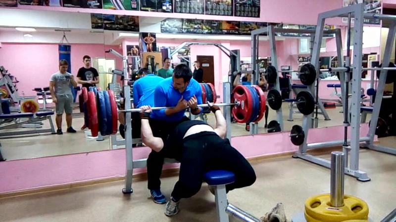 Хайтович Н. Жим-лёжа 235 кг