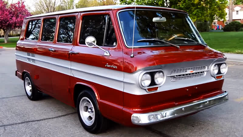 Автомобиль Chevrolet Corvair Greenbrier Van, 1963 года