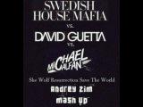 Swedish House Mafia feat. John Martin vs. David Guetta feat. Sia vs. Michael Calfan - She Wolf Resurrection Save The World (Andrey Zim Mash Up)