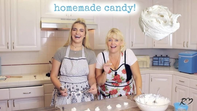 This Candy is INSANE! Homemade Divinity _ Rydel Lynch