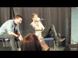 Nate's singing James Blunt VampiCon Hungary
