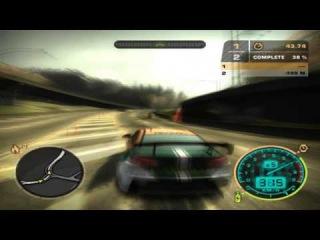 Nfs Most Wanted - Mitsubishi Evo X vs Porsche Carrera GT [HD].