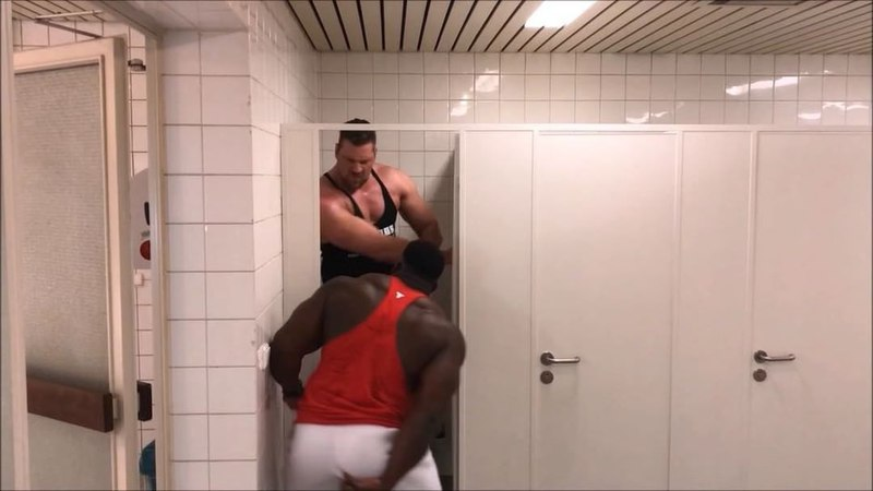 """Blessing awodibu on Instagram: """"When that protein hit ya you got to hit the toilet like 💩 💩💩💩 😂😂 Dude scared my 💩 back inside 😂😂 Ft @thedutchgian..."""