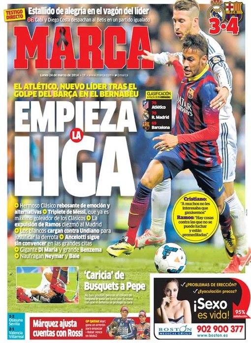 MARCA: La Liga qaytadan boshlandi
