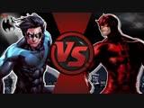 Nightwing VS Daredevil (DC VS Marvel) - DEATH BATTLE