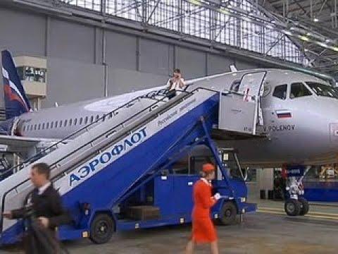 Аэрофлот получил пятидесятый Superjet 100 - Россия Сегодня