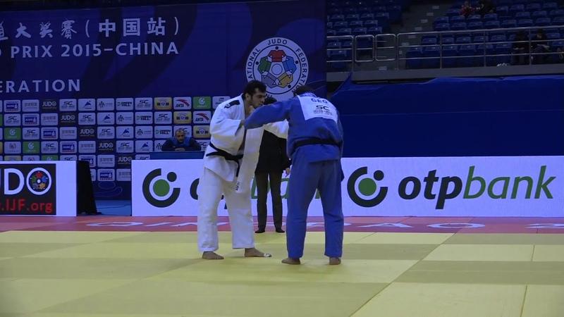 Elmar Gasimov AZE Guram Tushishvili GEO 1:0 100kg Grand Prix Qingdao 2015