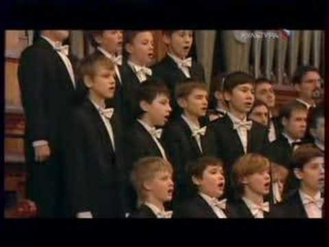 Hilarion Alfeyev. Christmas Oratorio 5 (Moscow Boys Choir)