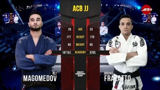 ACB JJ 14: Али Магомедов vs Бруно Фразатто / Ali Magomedov vs Bruno Frazatto