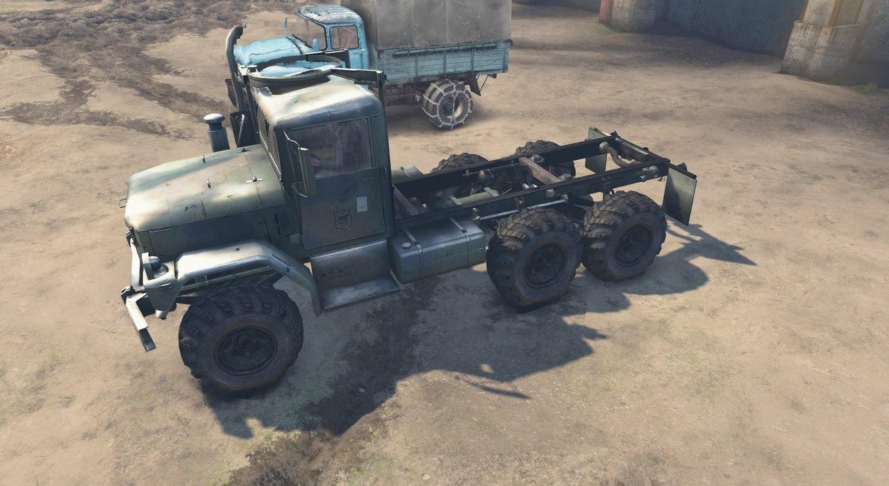 Army truck M35A2 для 23.10.15 & 8.11.15 для Spintires - Скриншот 1