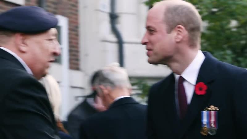 Уильям посетил парад и службу в память о погибших моряках-подводниках, 04.11.2018 (Royal Navy)