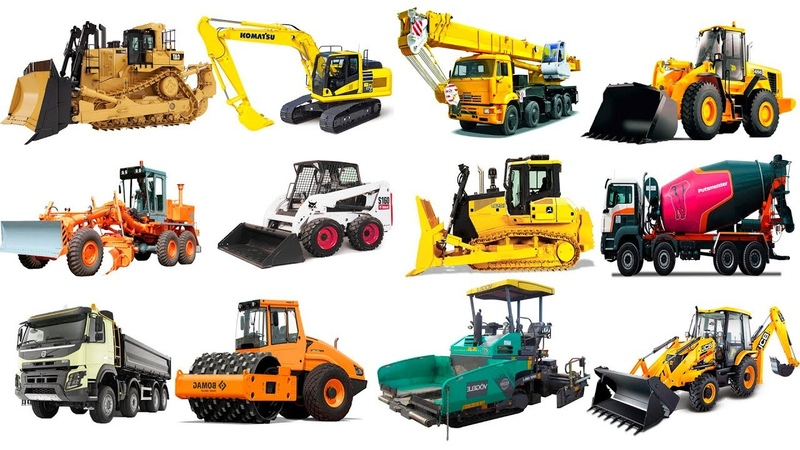 Educational Video for Kids. Learning Vehicles, Construction Trucks, Transport Names. Learn english