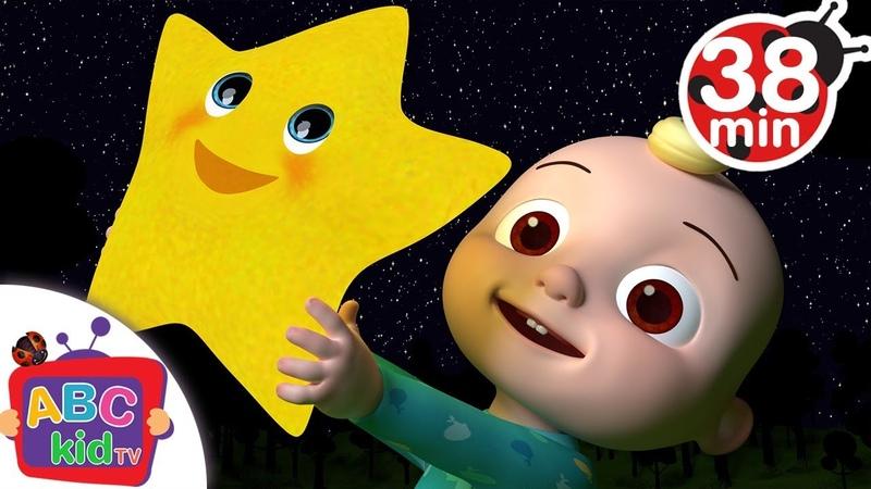 Twinkle Twinkle Little Star | More Nursery Rhymes Kids Songs - ABCkidTV