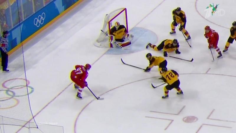 Россия-Германия.Олимпиада-2018.Финал
