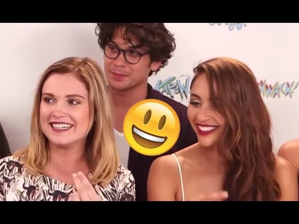 The 100 Cast - Funny Moments (Best 2018★)