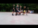 баскетболисты поют и танцуют