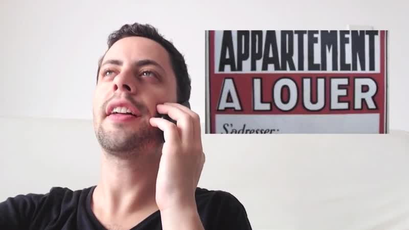 Je cherche un appartement à louer. (Learn french A1)