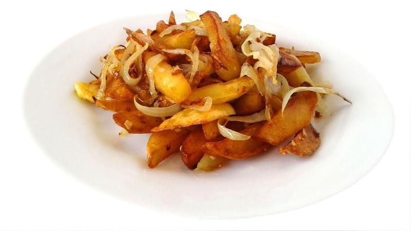 Золотая Картошка Румяная Вкуснятина