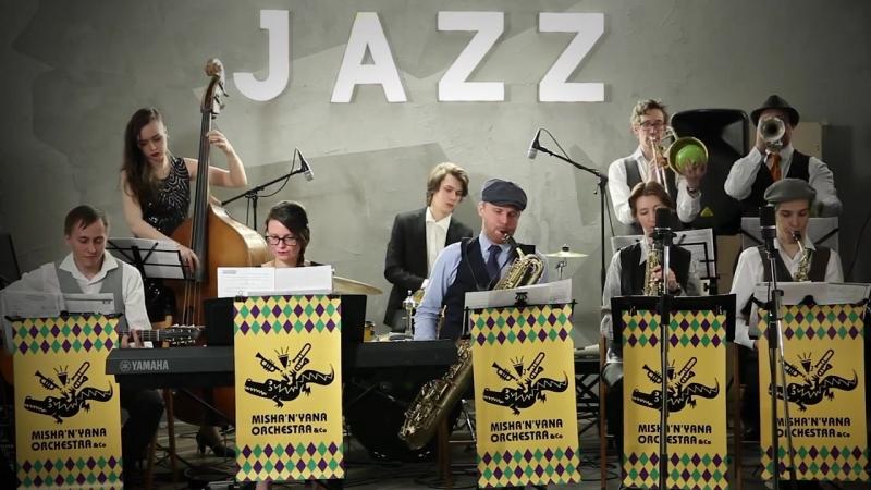 Jazzlike.ru - Feet Bone Mishanyana orchestra Co в Хорошей Республике ч 3